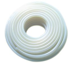 White silicone tube